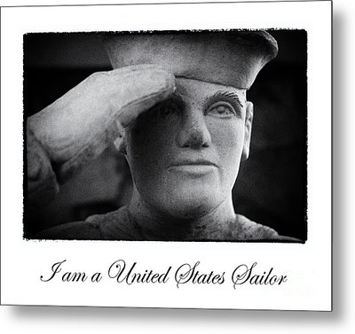 The Sailors Creed Metal Print by Tony Cooper