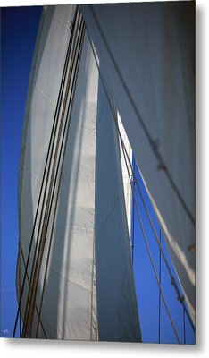 The Sails Metal Print by Karol Livote