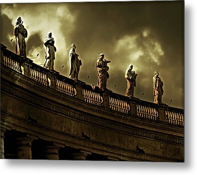 Metal Print featuring the photograph The Saints  by Micki Findlay