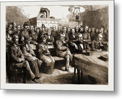 The Salvation Army In Switzerland The Trial Of Miss Booth Metal Print