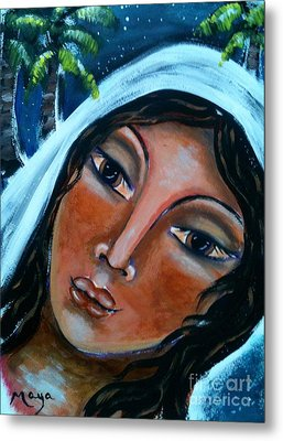 The Samaritan Woman Metal Print by Maya Telford