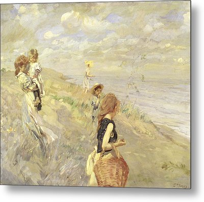 The Sand Dunes Metal Print by Ettore Tito