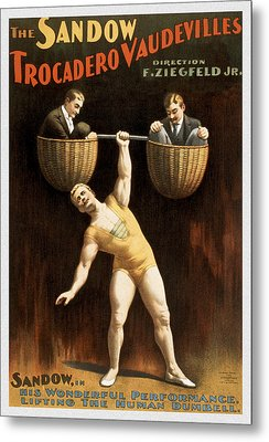 The Sandow Metal Print by Aged Pixel