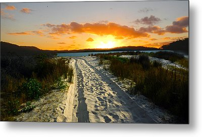 The Sandy Way Metal Print by Sandro Rossi