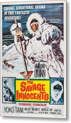 The Savage Innocents, Us Poster Art Metal Print