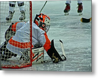 The Save Metal Print by David Rucker
