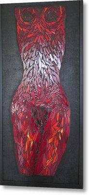The Scarlet Woman Metal Print by Alison Edwards