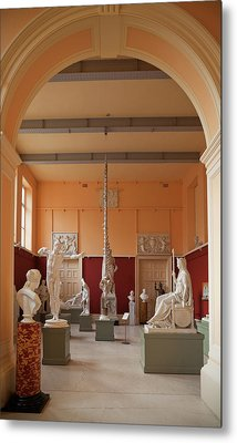 The Sculpture Gallery,interior Metal Print by Panoramic Images