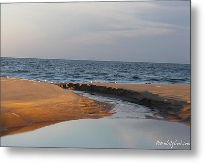 Metal Print featuring the photograph The Sea Overcomes by Robert Banach