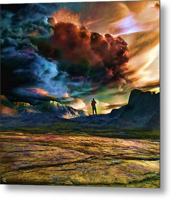The Search For Eternal Truth Metal Print