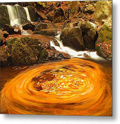 The Season Of Autumn Metal Print by Dan Sproul