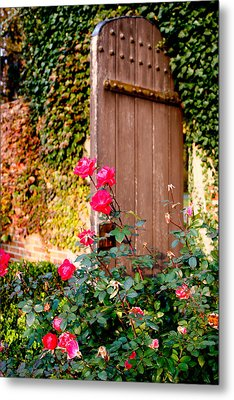 The Secret Door  Metal Print by Allan Millora
