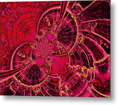 The Secret Life Of Hardware 1 Metal Print by Wendy J St Christopher