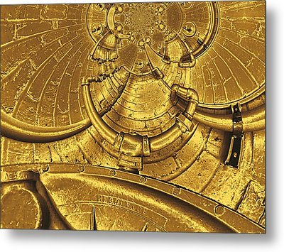 The Secret Life Of Hardware 2 Metal Print by Wendy J St Christopher
