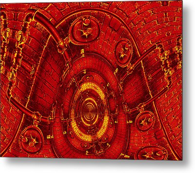 The Secret Life Of Hardware 3 Metal Print by Wendy J St Christopher