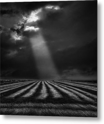The Secure Ground Of Home ... Metal Print