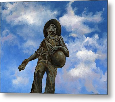 The Seed Sower Metal Print