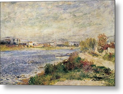 The Seine In Argenteuil Metal Print