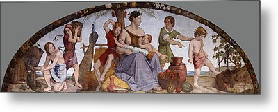 The Selling Of Joseph Metal Print by Friedrich Overbeck