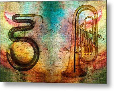 The Serpent And Euphonium -  Featured In Spectacular Artworks Metal Print