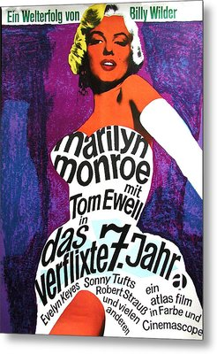 The Seven Year Itch German Metal Print