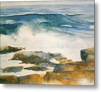 The Seventh Wave Metal Print by William Beaupre