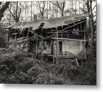 The Shack Metal Print by Cristel Mol-Dellepoort