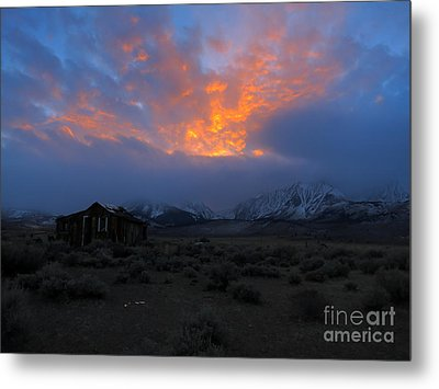 The Shack V.1 Metal Print by Paul Foutz