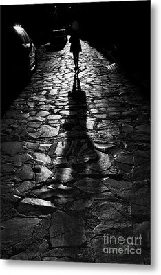 The Shadow Metal Print by Nicola Fiscarelli