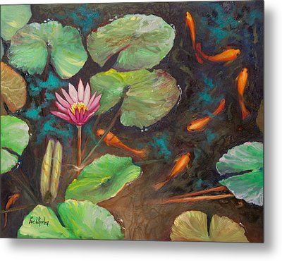 The Shallow End Metal Print by Eve  Wheeler