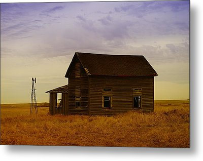 The Shambles Of Dreams Gone By Metal Print by Jeff Swan