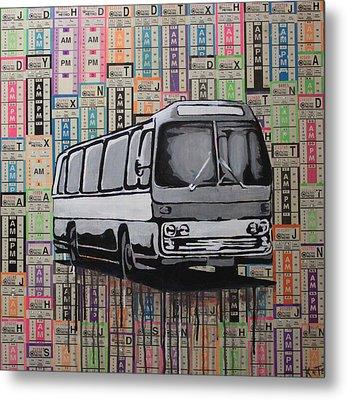 The Shame Train Metal Print by Kate Tesch