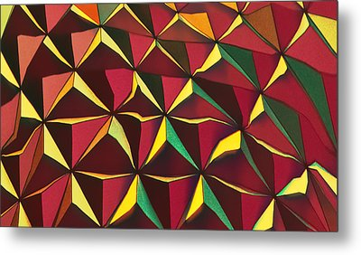 Shapes Of Color Metal Print