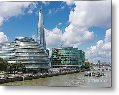 The Shard London Metal Print by Donald Davis
