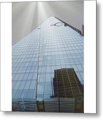 The Shard Metal Print by Maeve O Connell