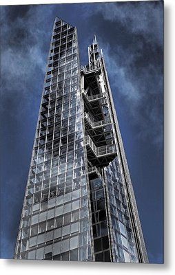 The Shards Of The Shard Metal Print