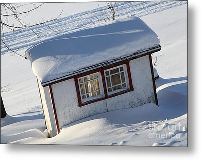 The Shed Metal Print by Sophie Vigneault