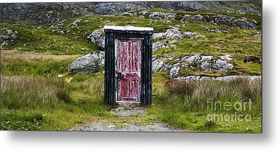 The Shed Metal Print by Tim Gainey