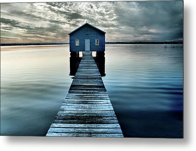 The Shed Upon The Water Metal Print