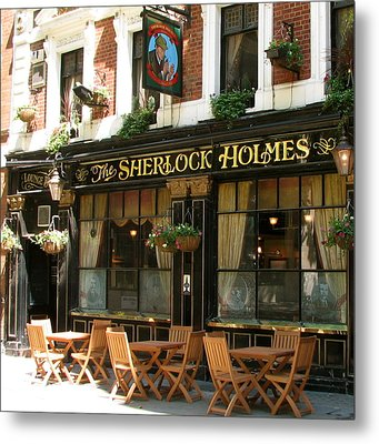 The Sherlock Holmes Metal Print