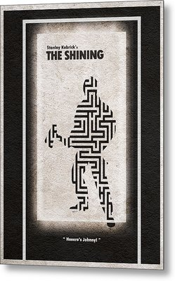 The Shining Metal Print by Ayse Deniz