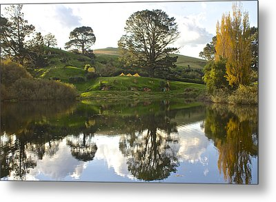 The Shire Middle Earth Metal Print