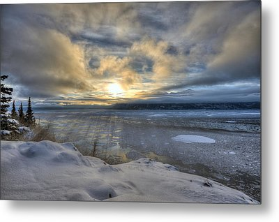 The Shortest Day Metal Print by Ted Raynor
