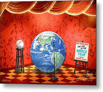 The Show Must Go On Metal Print by Cristophers Dream Artistry