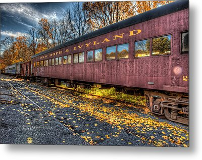 The Siding Metal Print