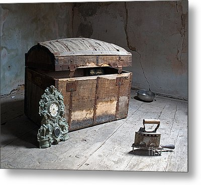 The Sight From The Darkness Metal Print by Sinisa Botas
