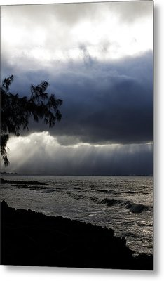 The Silver Lining Metal Print