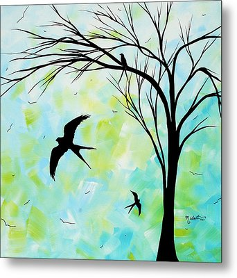 The Simple Life By Madart Metal Print by Megan Duncanson