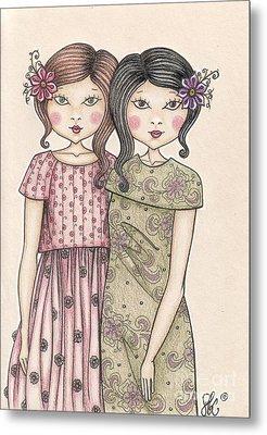 The Sisters Metal Print by Snezana Kragulj