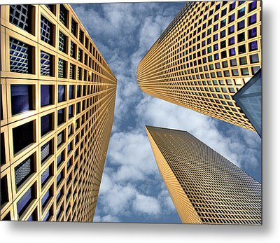 The Sky Is The Limit Metal Print by Ron Shoshani